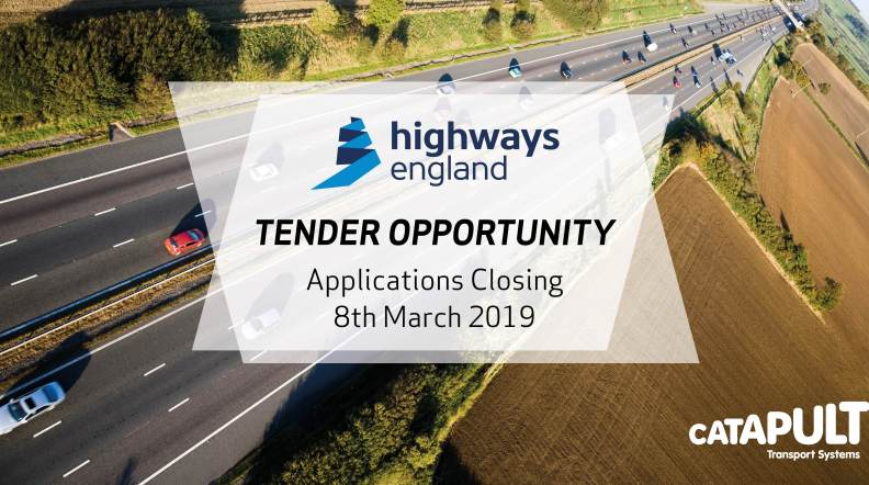 TSC seeks innovators for major Highways England contract