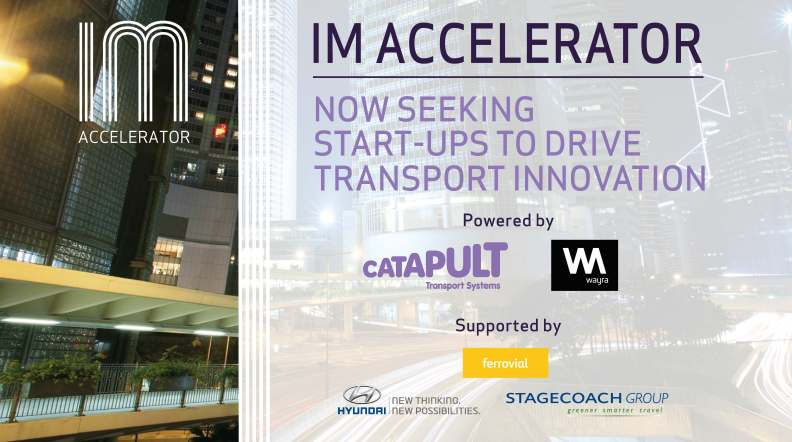 Accelerator seeking new applicants in transport innovation arena