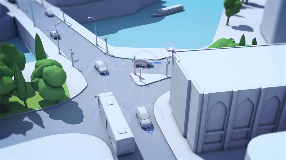 FLOURISH: Ground-breaking driverless car project showcases vision for a connected transport future