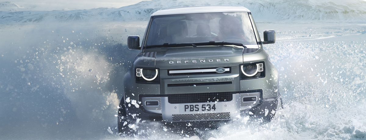 Brains And Brawn: Rugged New Land Rover Defender Showcases World-first Dual Esim Connectivity