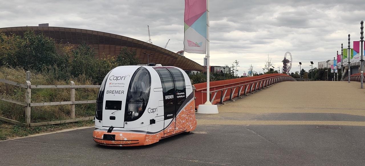 Capri: public trials on-demand driverless pods