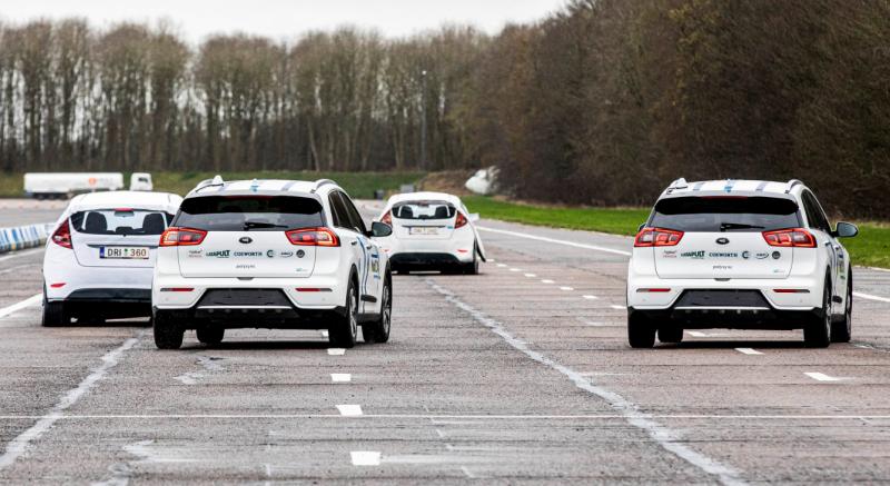 MuCCA driverless Cars