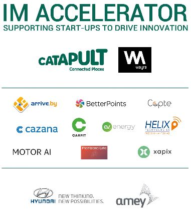Innovative SMEs Join Intelligent Mobility Accelerator