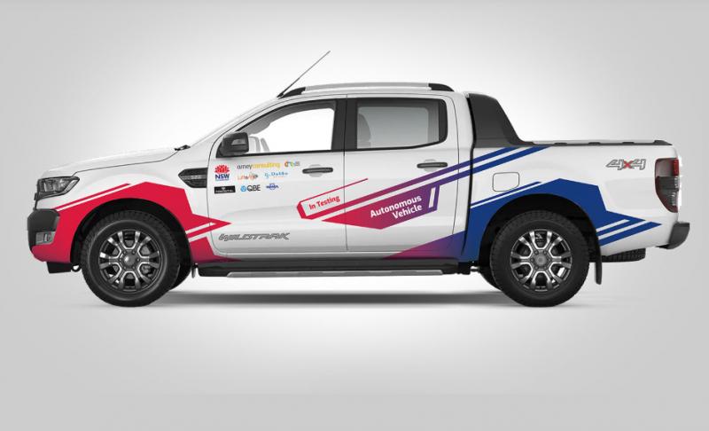 conigital autonomous vehicle