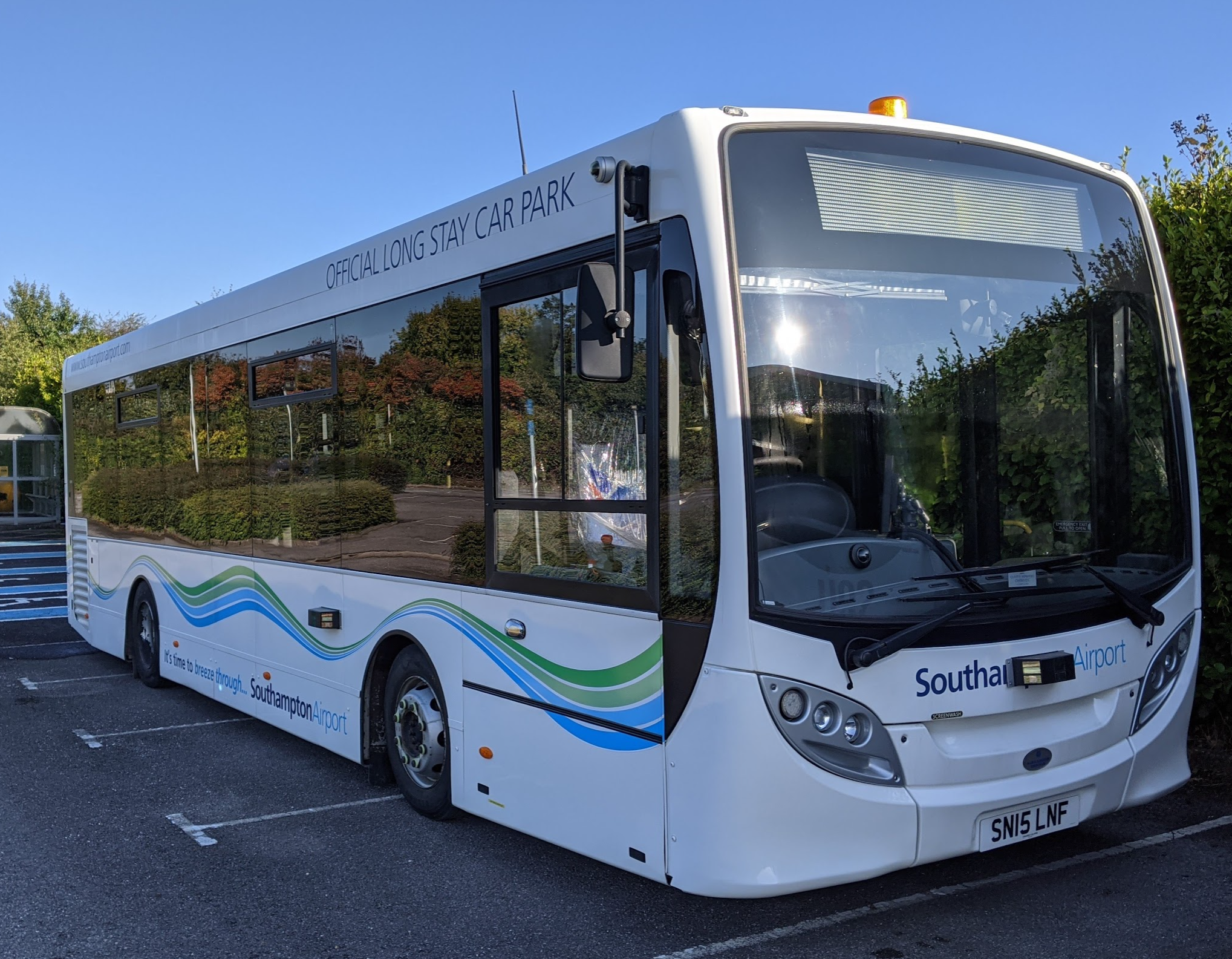 Southampton Airport & Conigital in UK first with Autonomous Bus Trial