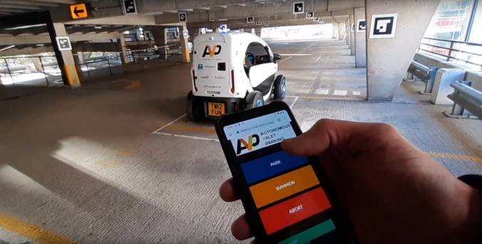 StreetDrone congratulates Autonomous Valet Parking pioneers